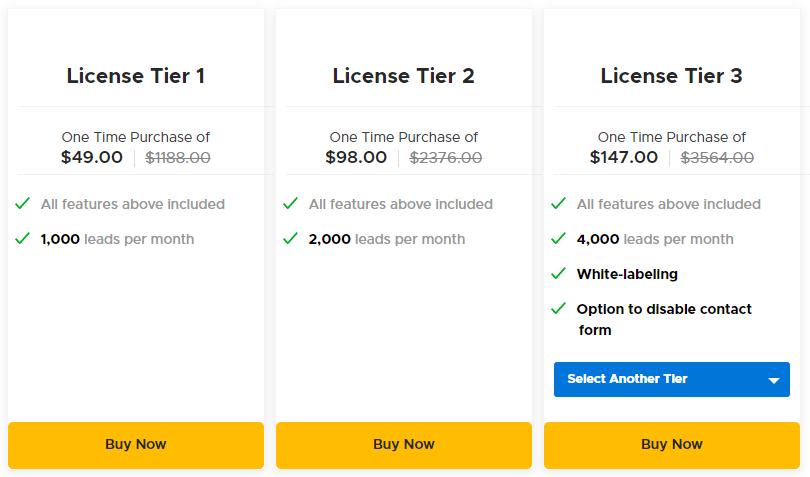 Marquiz AppSumo Pricing