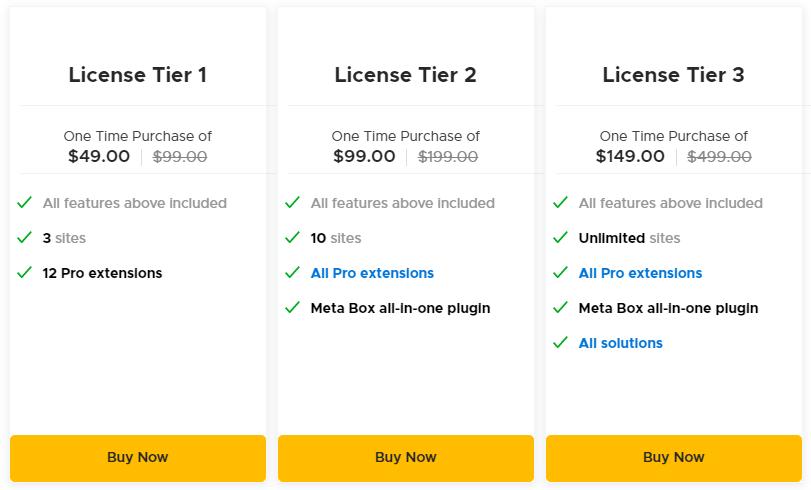 Meta Box AppSumo Pricing