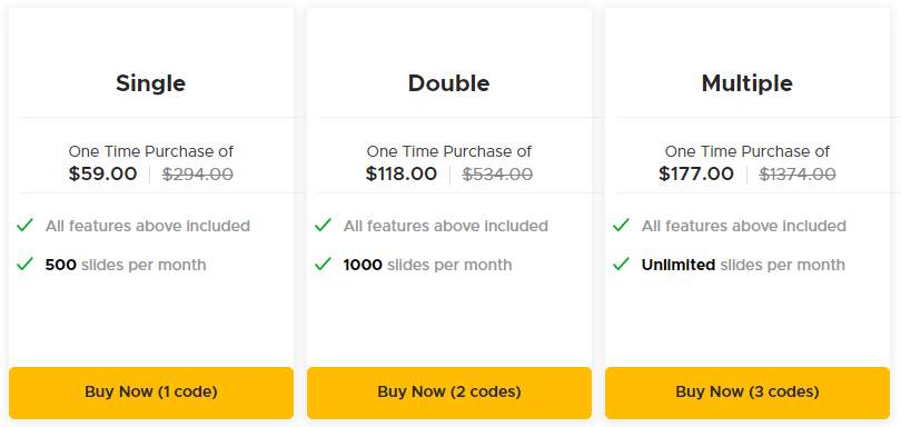 Tyle AppSumo Pricing