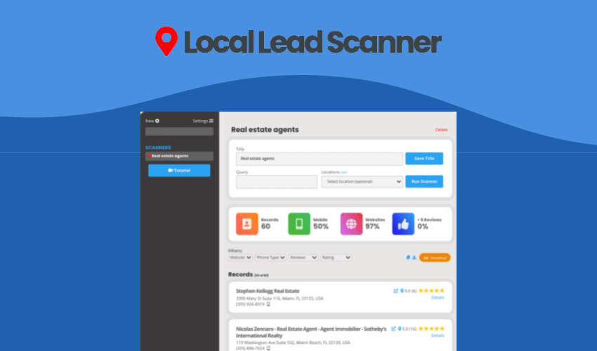 Local Lead Scanner