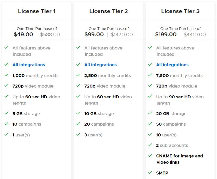 Nexweave AppSumo Pricing