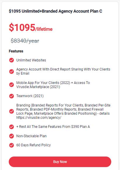 Virusdie PitchGround Pricing 3